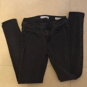 Bullhead Denim Black Jeans Size 5 Skinny